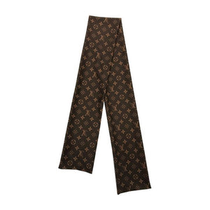 Classic Brown LV Scarf