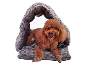 PLS BIRDSONG Slipper Cuddle Bed, Pet Cave, Dog Cave, Cat Cave, Dog Beds, Cat Beds, Dog Beds for Small Dogs