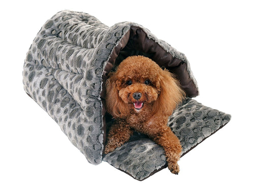 Slipper Cuddle Bed, Pet Cave, Dog Cave, Cat Cave, Dog Beds, Cat Beds, Dog Beds for Small Dogs