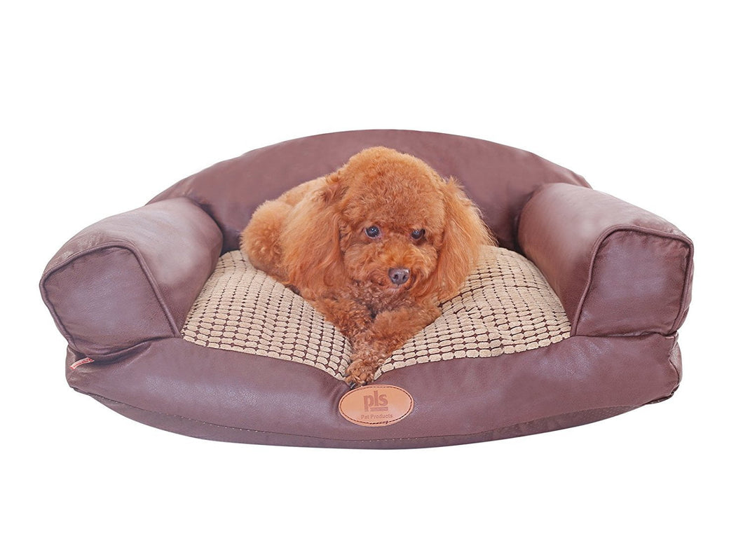 Paradise Plush Dog Sofa