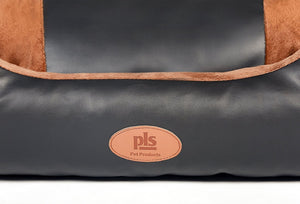 PLS Deluxe Lounger Faux Leather