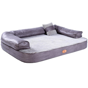 [NEW] Lounger Sofa, Firm Orthopedic Dog Bed, Foam Dog Bed, Dog Beds with Removable and Washable Cover