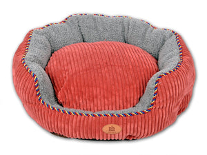 Snugg Bolster Pet Bed, Dog Bed, Completely Washable, Easy-clean, Modern Design, Durable