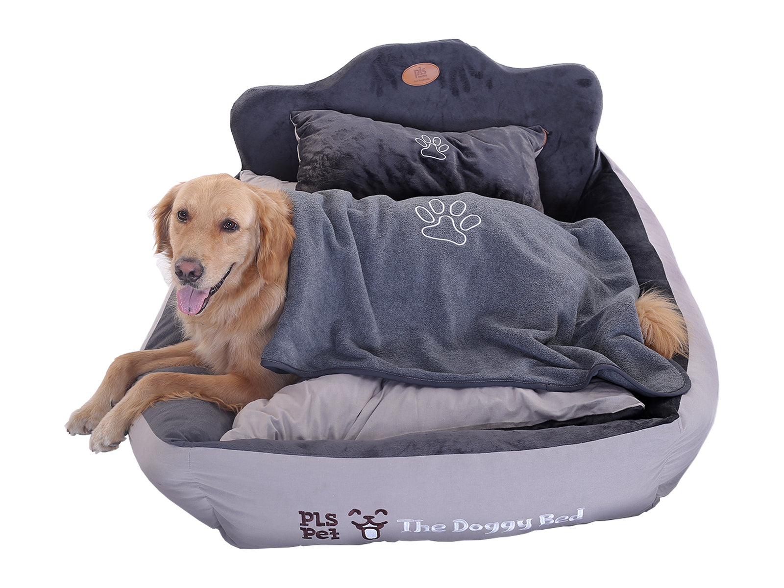 Marvelous The Doggy Bed With Free Blanket Birdsong Dog Beds Theyellowbook Wood Chair Design Ideas Theyellowbookinfo