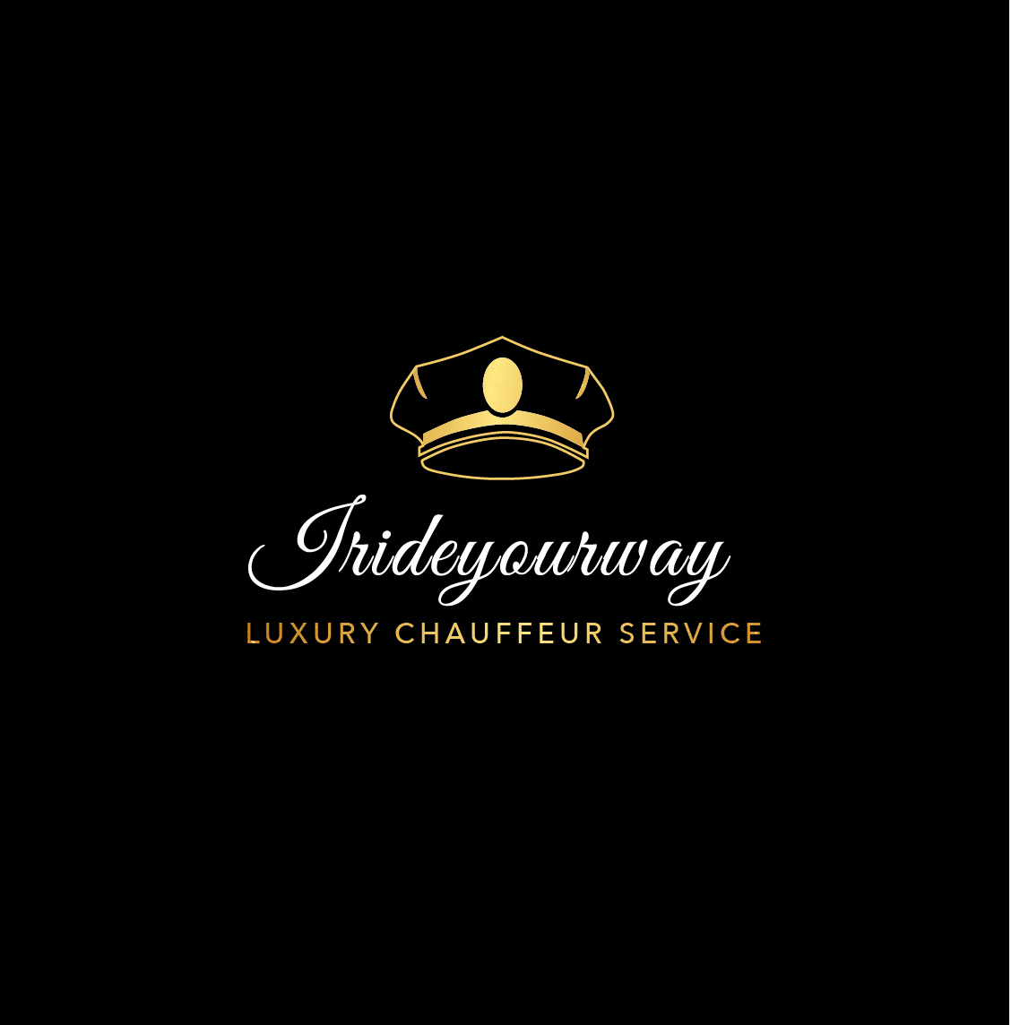 IRIDEYOURWAY.COM - OFFICIAL LOGO LUXURY CHAUFFEUR COMPANY