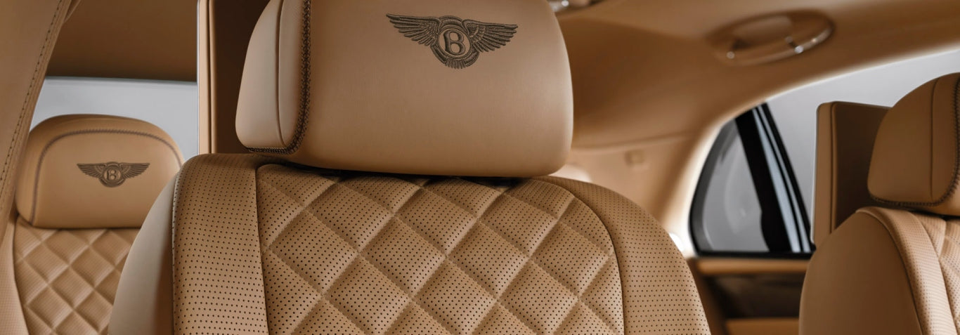 Bentley Flying Spur Interior Seats - Irideyourway Luxury Chauffeur Service in Los Angeless