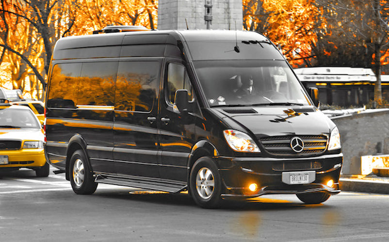 MERCEDES SPRINTER VAN SHUTTLE - LUXURY CHAUFFEUR SERVICE IN LOS ANGELES
