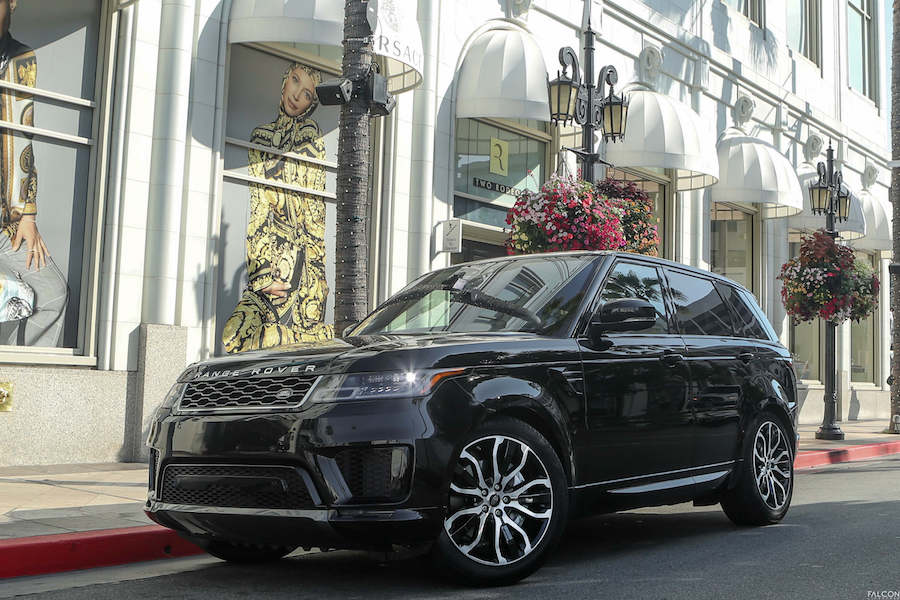 RANGE ROVER SPORT - LUXURY CHAUFFEUR SERVICE IN LOS ANGELES, DALLAS & LAS VEGAS