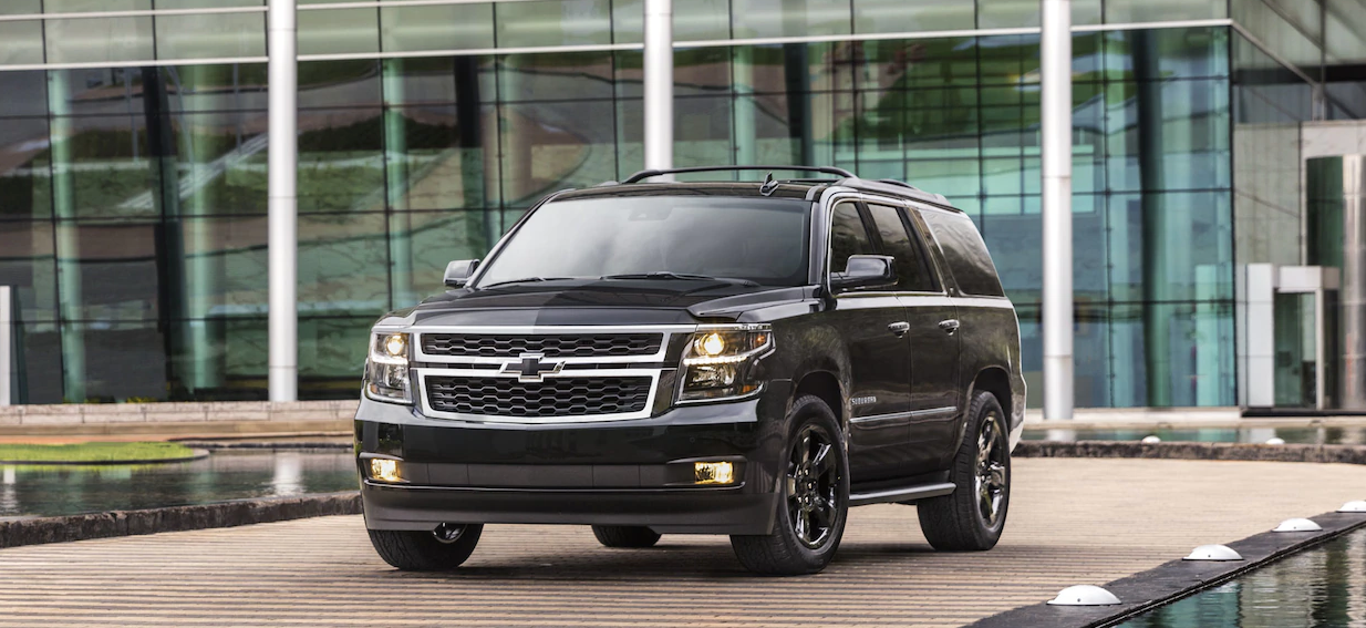 CHEVROLET SUBURBAN LUXURY CHAUFFEUR SERVICE LOS ANGELES