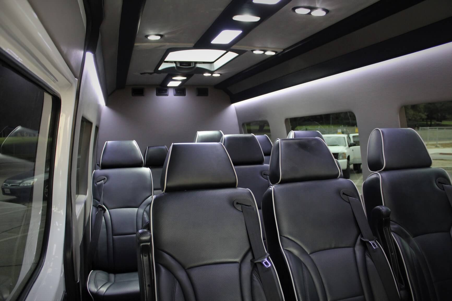 Mercedes Sprinter Executive Shuttle Van - Luxury Chauffeur Service in Los Angeles