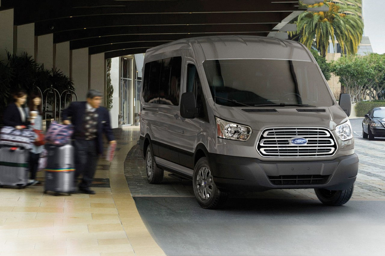 FORD TRANSIT SPRINTER VAN 15 PASSENGERS - LUXURY CHAUFFEUR SERVICE IN LOS ANGELES, DALLAS & LAS VEGAS