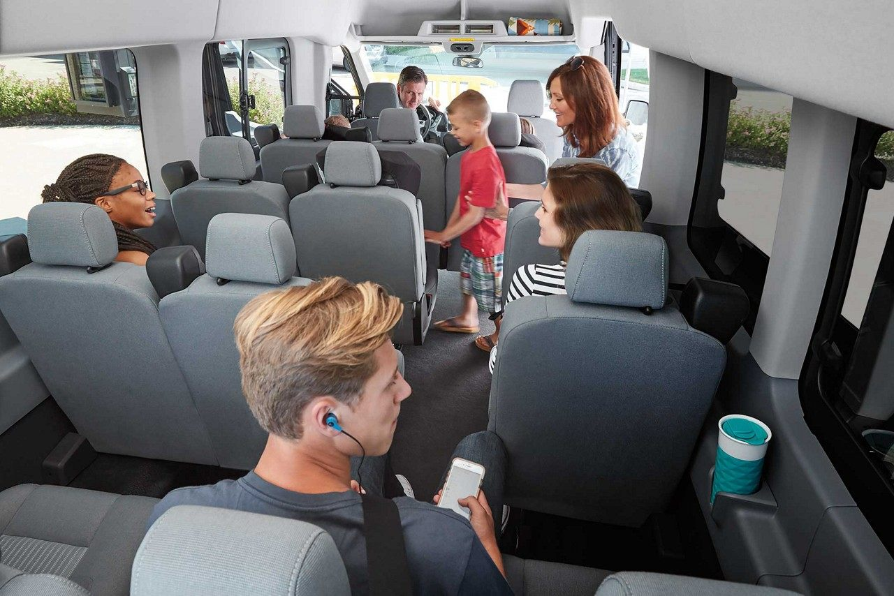 FORD TRANSIT SPRINTER VAN 15 PASSENGERS - LUXURY CHAUFFEUR SERVICE IN LOS ANGELES, DALLAS & LAS VEGA