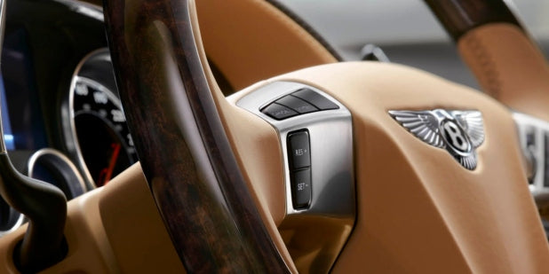 Bentley Flying Spur Interior - Irideyourway Luxury Chauffeur Service in Los Angeles