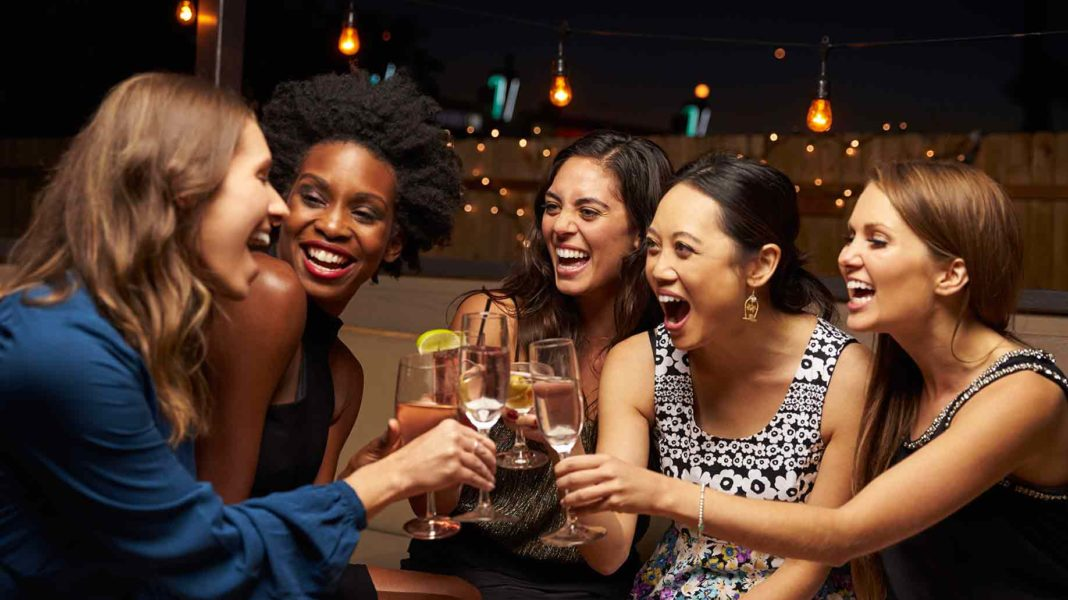 Group of Women Enjoying the Night Out - Irideyourway Luxury Chauffeur Service