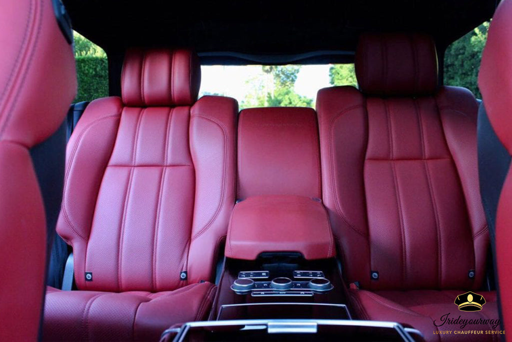 RANGE ROVER AUTOBIOGRAPHY - LUXURY CHAUFFEUR SERVICE IN LOS ANGELES DALLAS LAS VEGAS