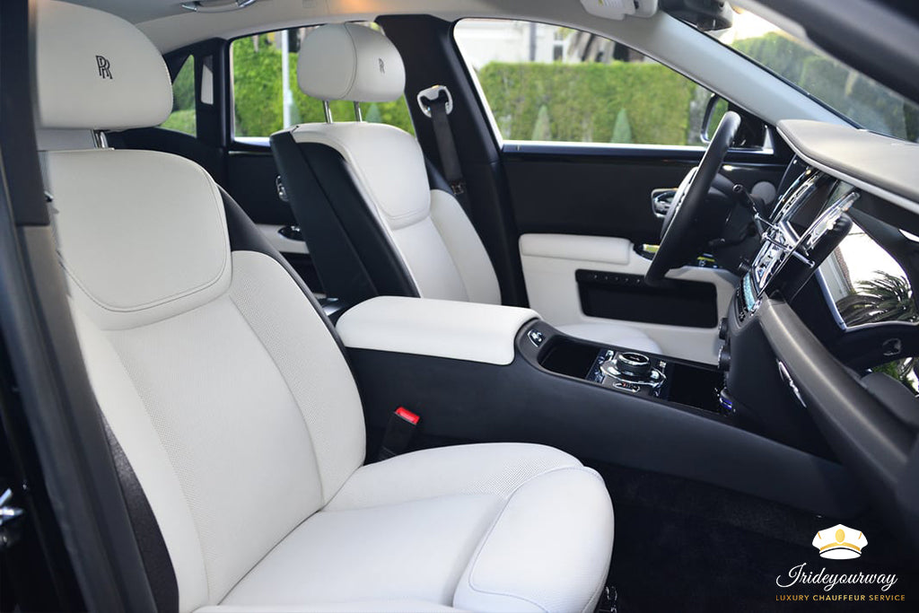 ROLLS ROYCE GHOST - LUXURY CHAUFFEUR SERVICE IN LOS ANGELES DALLAS LAS VEGAS
