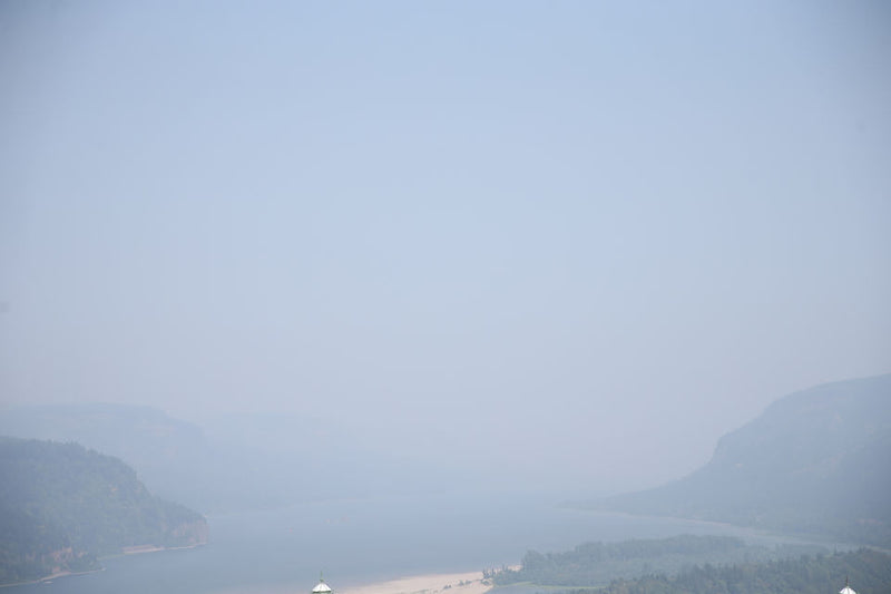 Oregon's Air Quality - Wild Fires All Around Us!