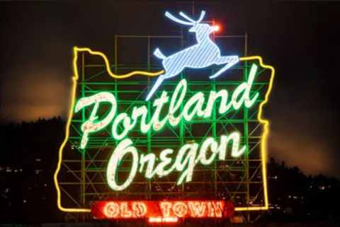 Portland Christmas and Holiday Lights Attractions Sights Festival Festivus Winter