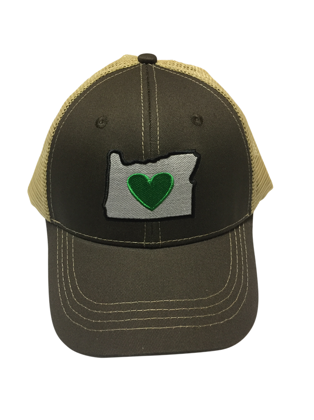 Trucker Hat - 3 Color Options | Heart in Oregon - Heart In Oregon