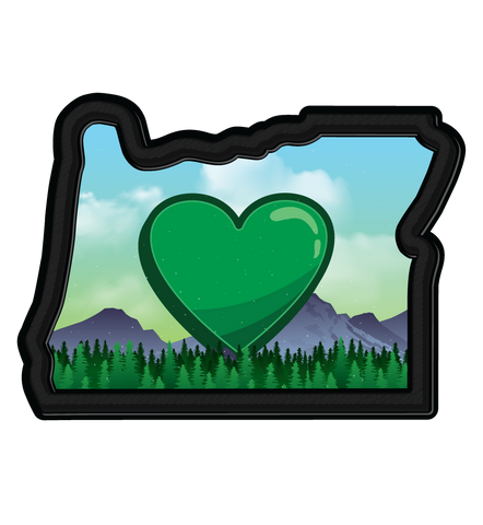 OR/ORE/Oregon Sticker | 3 stickers in one!