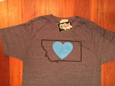 Heart in Vermont Long Sleeve Shirt