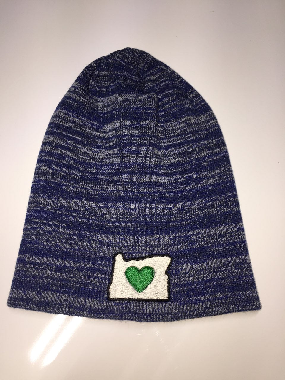 Beanie Cap - Embroidered Heart in Oregon Logo - Heart In Oregon