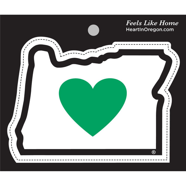 Heart in oregon or sticker largeall weather premium vinyl sticker heart in oregon
