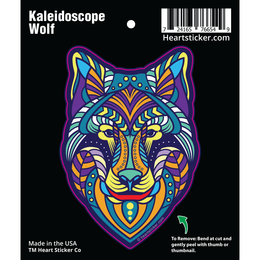 Kaleidoscope Wolf - Heart In Oregon