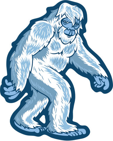 Bigfoot Hang Loose Stroll Sticker | Die Cut