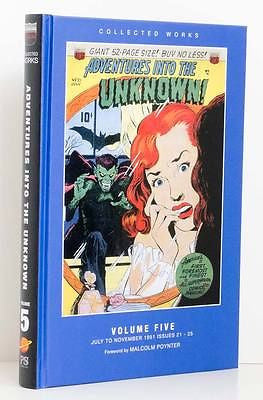 Adventures Into The Unknown  Volume Five  July 1951 to November 1951  Issues 21-25