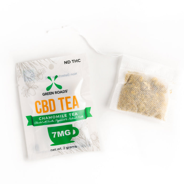 Green Roads Chamomile CBD Tea