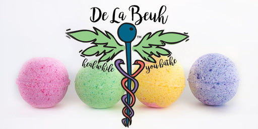 Aromatherapy Bath Bombs by De La Beuh | Buy CBD Online | CBD PHILLY