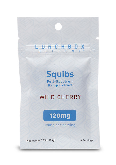 Lunchbox Alchemy Full Spectrum Gummies 6 SERVINGS 120mg
