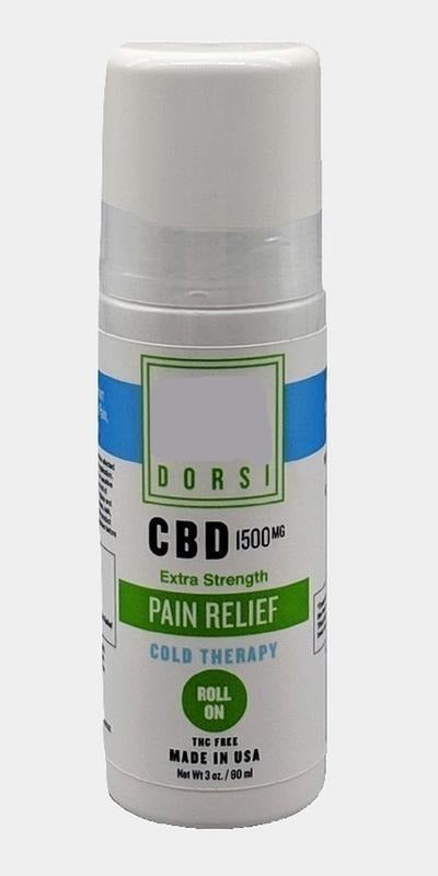 Dorsi Cold Roll On 1500mg