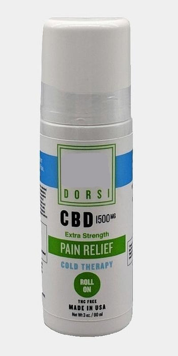 Dorsi Cold Therapy Pain Relief Roll On 1500mg