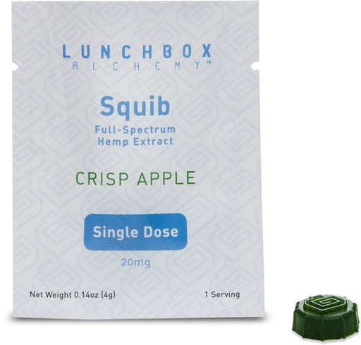 Squib 20 - Vegan Hemp Gummy - 20mg Each - Single Serving