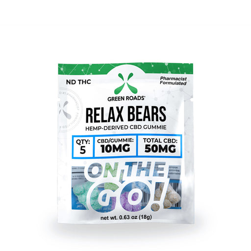 Green roads on the go CBD RELAX BEARS - 50MG