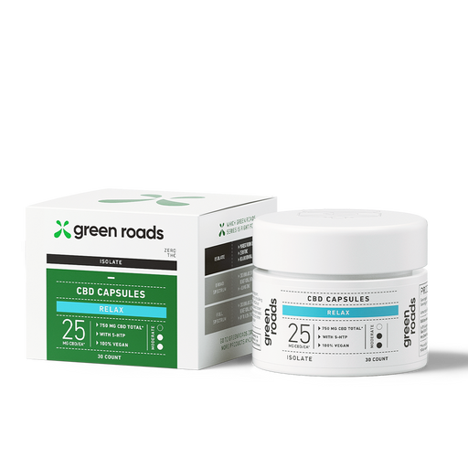 Green roads CBD RELAX CAPSULES 25MG