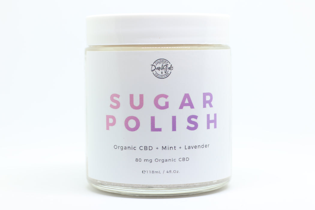 Mint Lavender Sugar Polish - By Dank Gal's