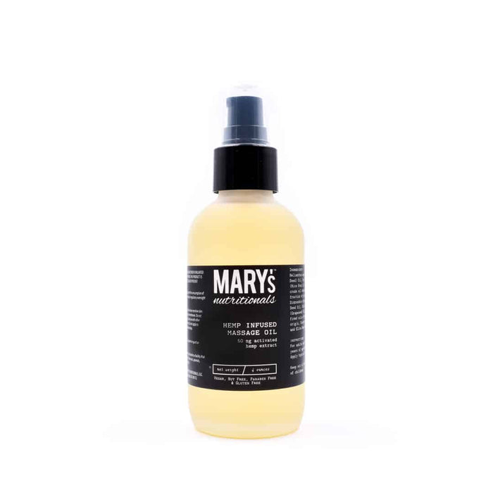 Mary's Nutritionals Hemp Massage Oil
