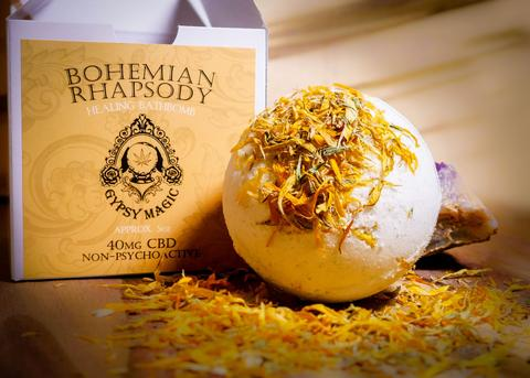 Bohemian Rhapsody Bath Bomb by Gypsy Magic