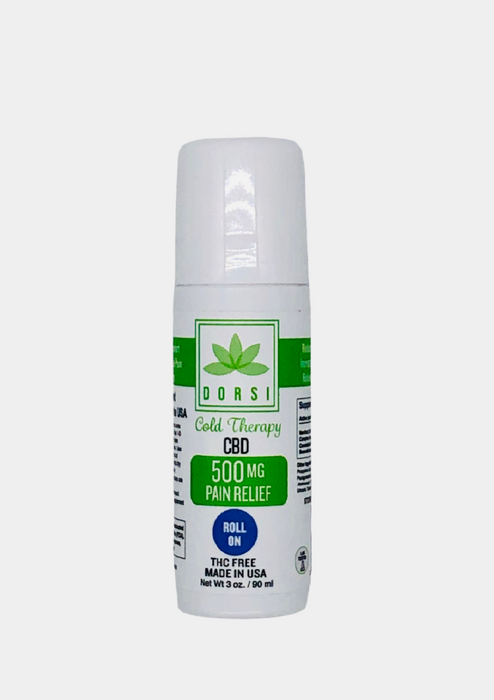 DORSI HEALTH 500 MG ROLL ON TOPICAL PAIN RELIEF