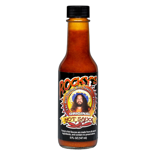 CBD Infused Rocky's Best Tasting Hot Sauce ...Period.