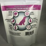 Woof It Broad Spectrum CBD Dog Treat