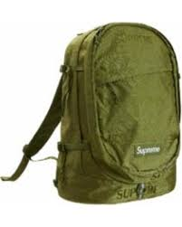 SUPREME green bookbag