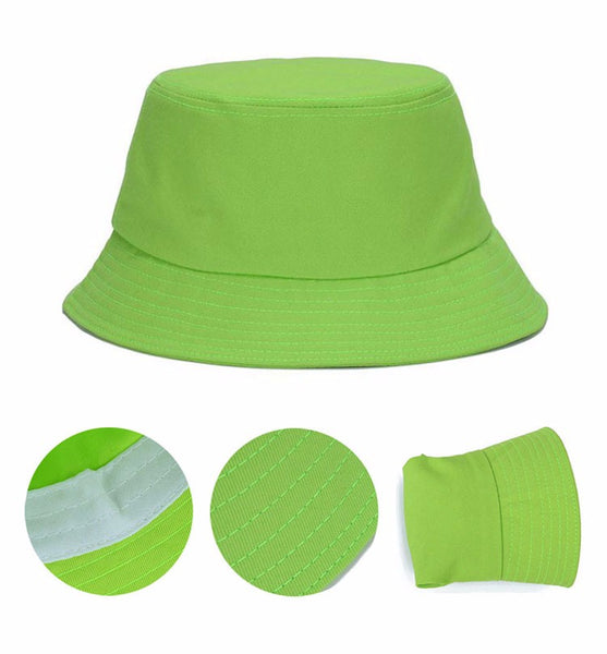 50773ac866e ... Hats N Beanies 7 Solid Colors Bucket Hats for Women Men Panama Bucket  Cap Women Hat ...