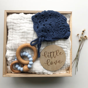 little boy blue keepsake gift box