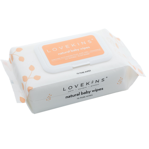 lovekins natural baby wipes.