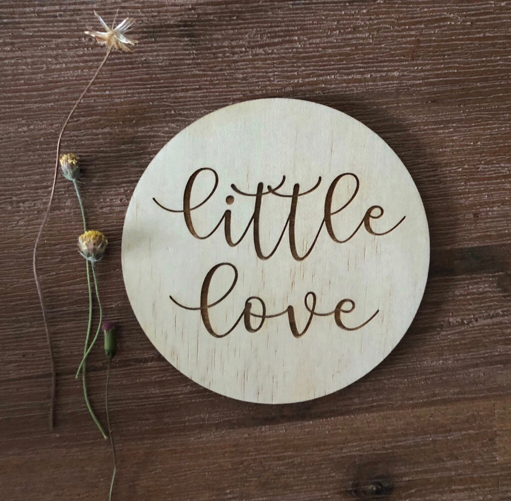 little love plaque.