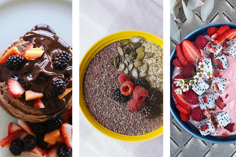 ingredients, smoothies, pancakes, montreal, desserts, breakfast
